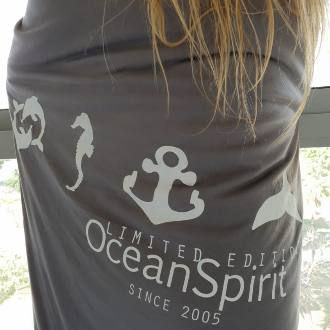 Ocean Symbols Double Blanket Cover-0