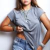חולצת פשתן לאשה-4847