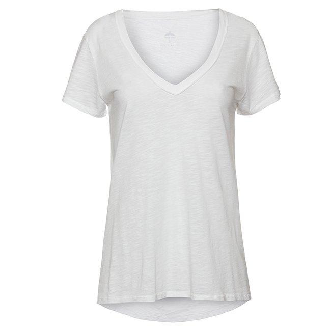 חולצת V עם סנפיר בגב-4664
