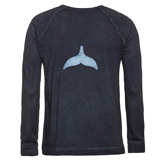 חולצת סנפיר ארוכה לגבר-0