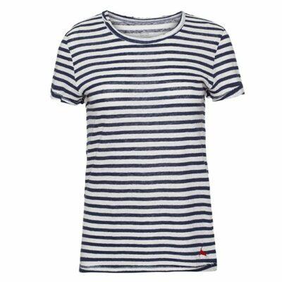 חולצת פשתן פסים-4629