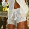 מכנסי ריזורט קצרים-0
