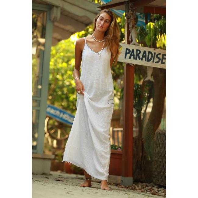 שמלת מקסי ריזורט-4961