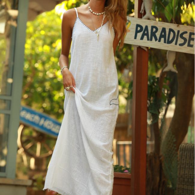 שמלת מקסי ריזורט-5046