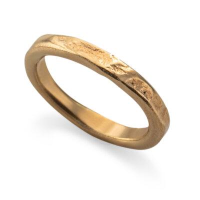 טבעת בייסיק גולד