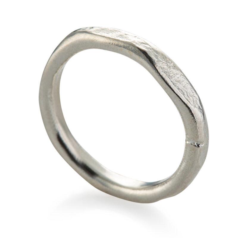 טבעת בייסיק כסף