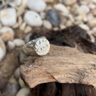 טבעת חותם עין-0