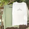 חולצת סנפיר ארוכה לגבר-6113