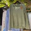 חולצת וי ארוכה פשתן-6213