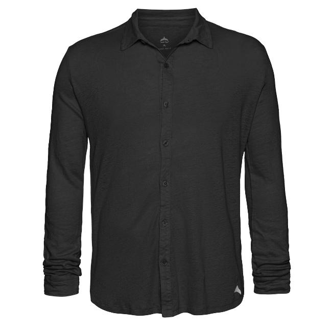 חולצת כפתורים יוניסקס פשתן-6176