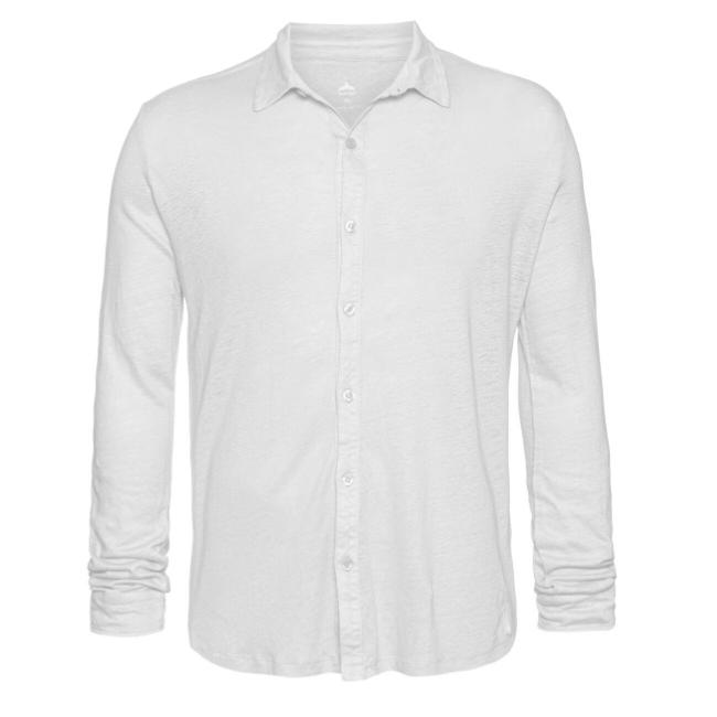 חולצת כפתורים יוניסקס פשתן-6189