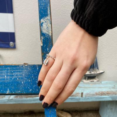 טבעת דיסקית עם קונכיה-0
