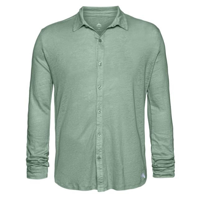 חולצת כפתורים יוניסקס פשתן-6386