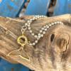 צמיד יד עם תליון סנפיר חלול-6677