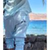 סט חולצת כפתורים ומכנסי SUNRISE-7132