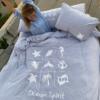 סט מצעים מלא למיטה זוגית - X-MIX-7661