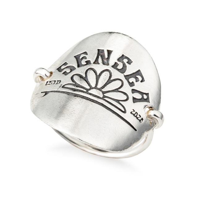 טבעת מטבע סנסי