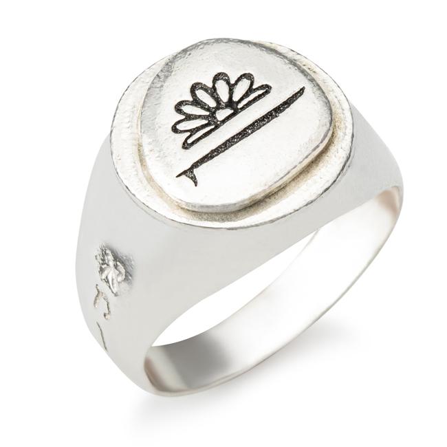 טבעת חותם סנסי