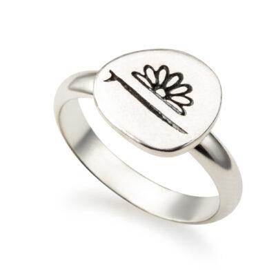 טבעת כפתור סנסי
